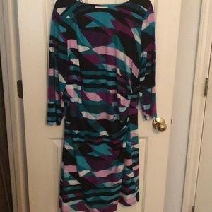 Calvin Klein Plus Size Printed Dress